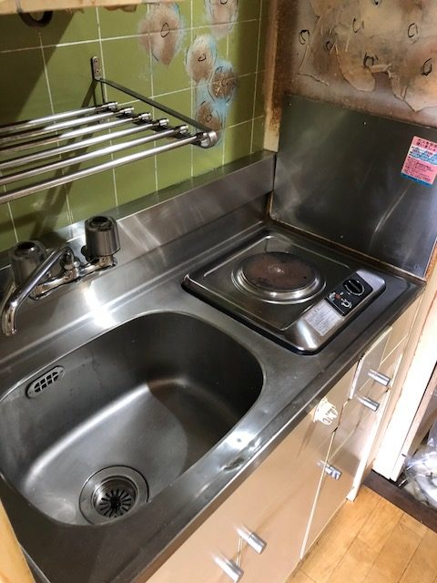 キッチンもきれいになりました。