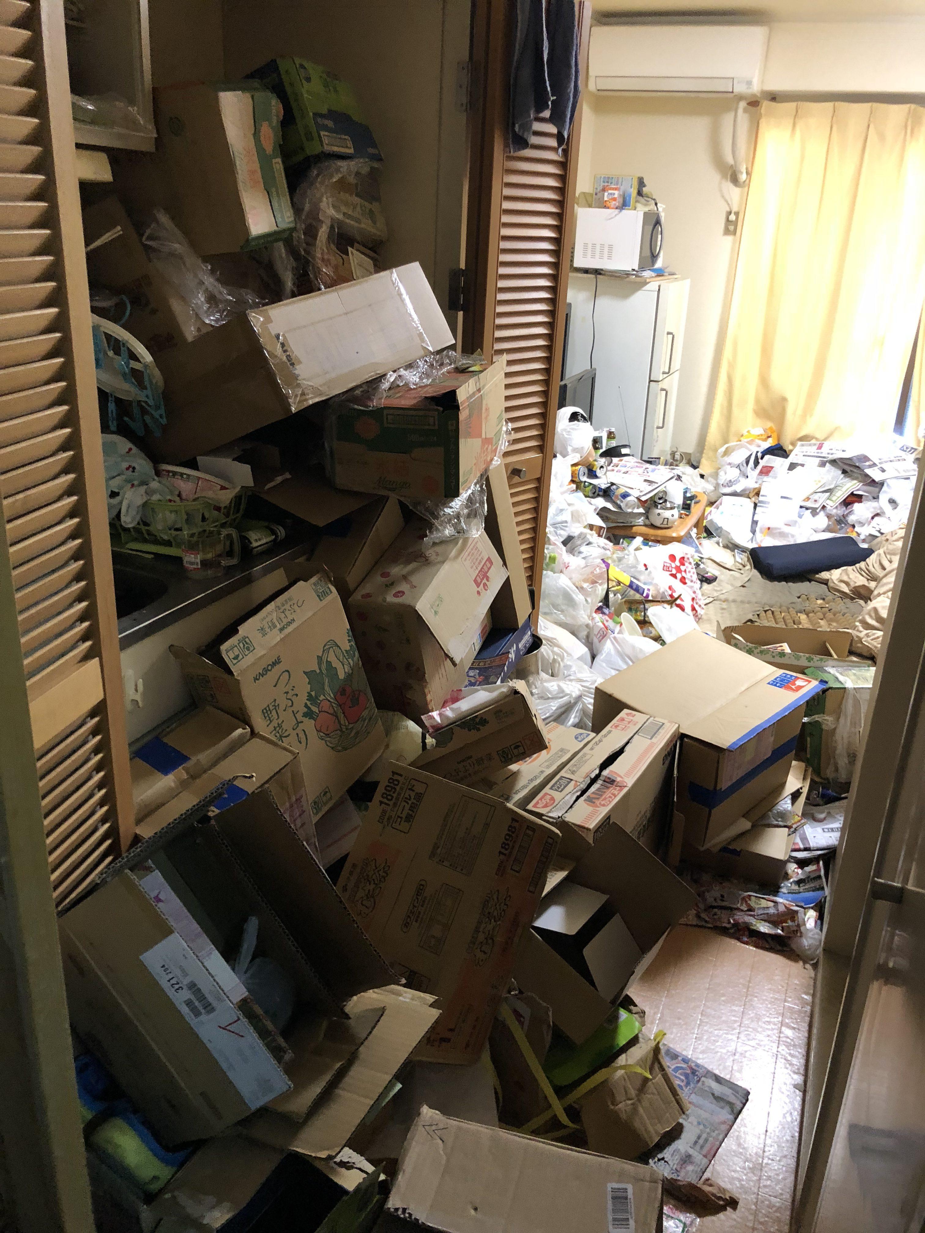 大阪府 ゴミ清掃のご依頼です