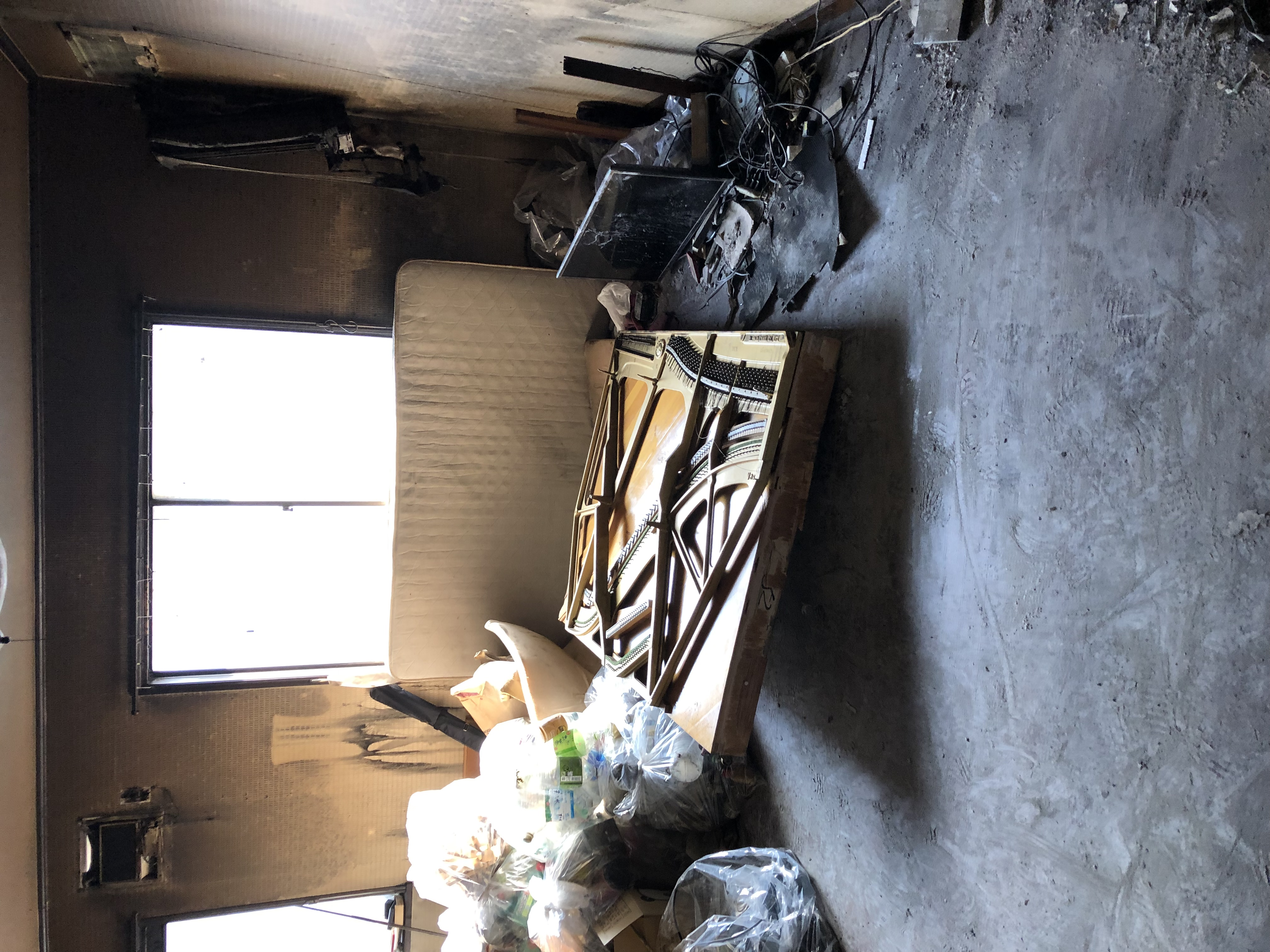 東京都  火災清掃  3日目