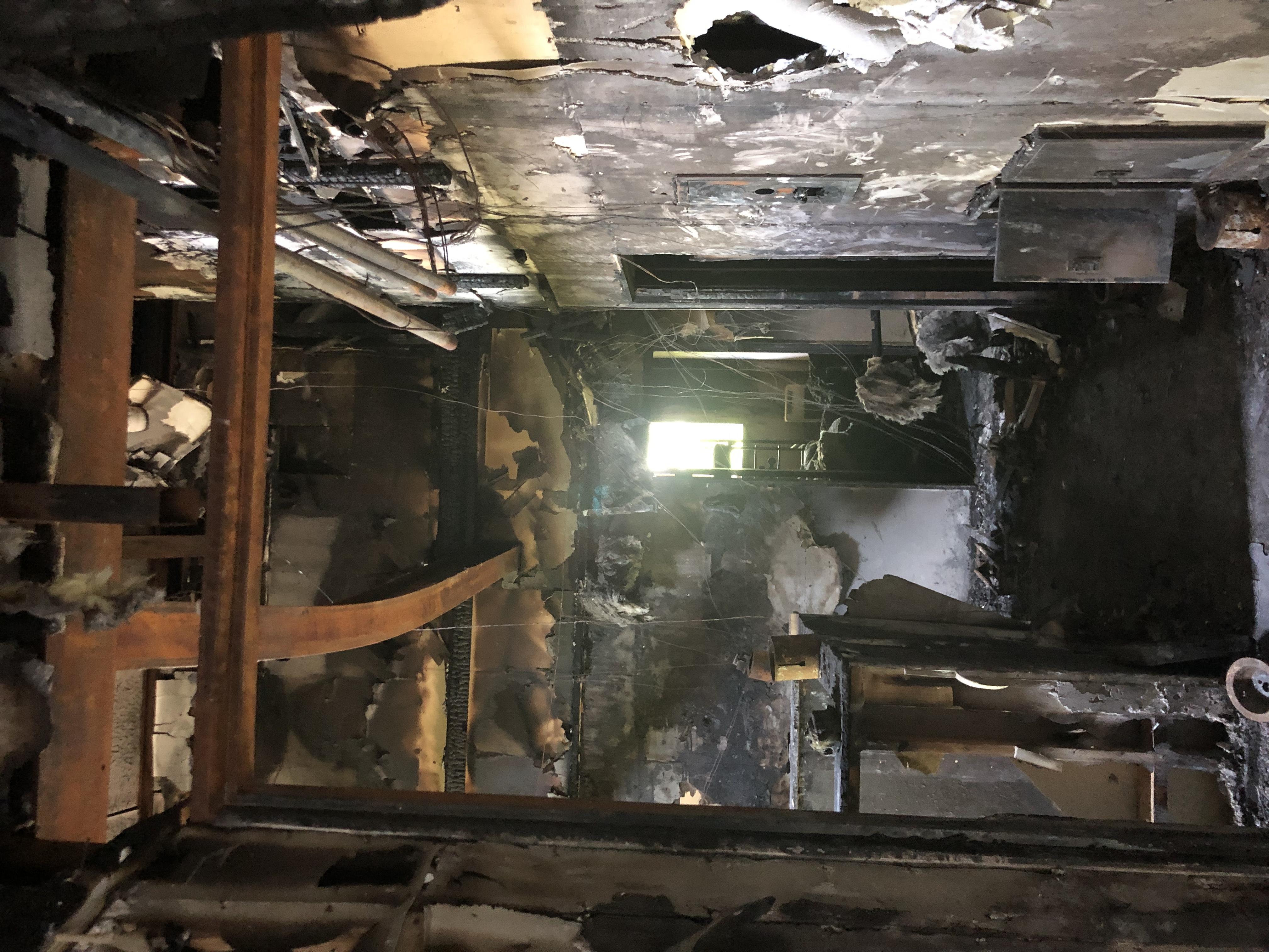 新潟県 火災現場復旧