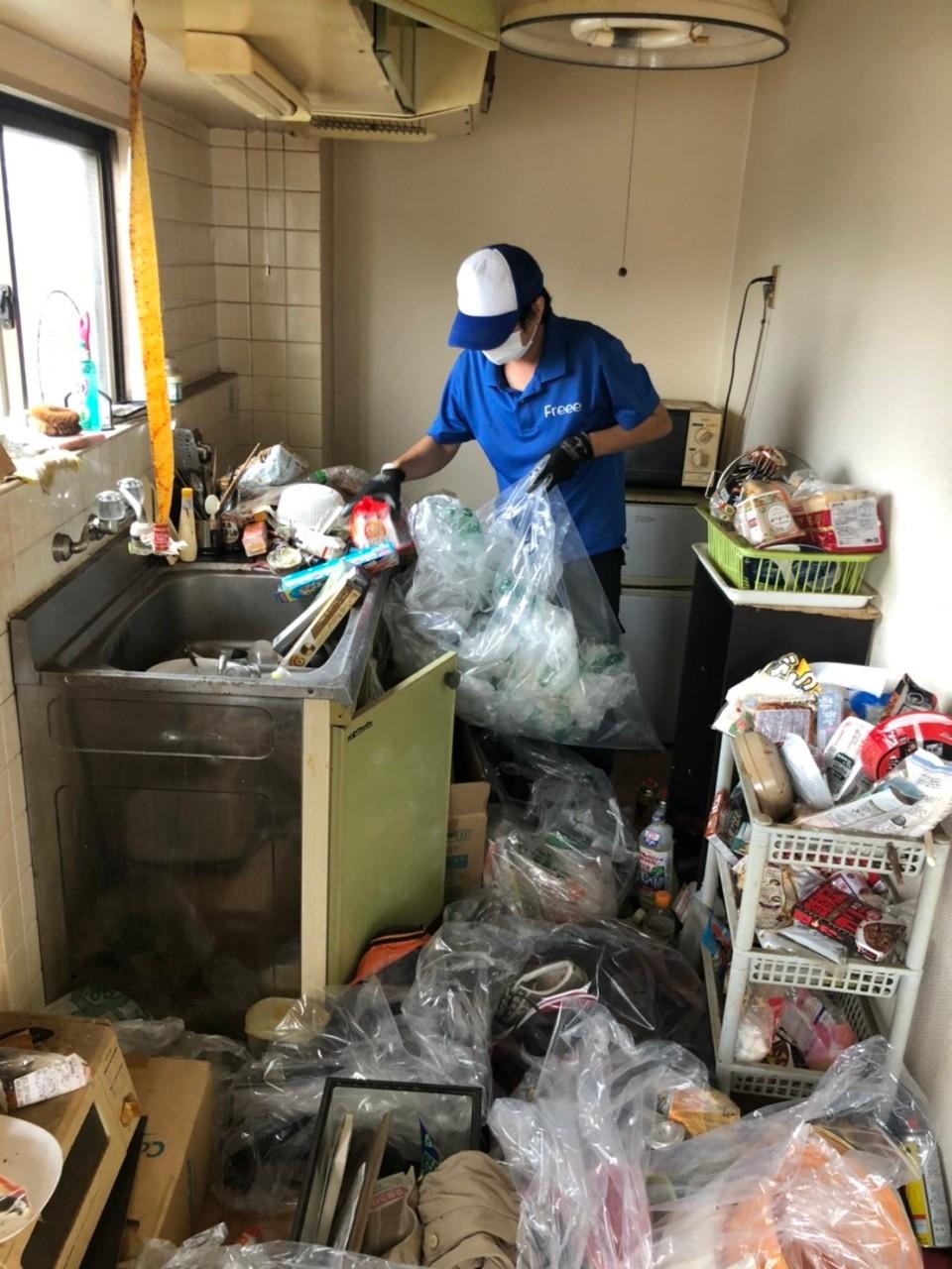 関西 ゴミ屋敷①