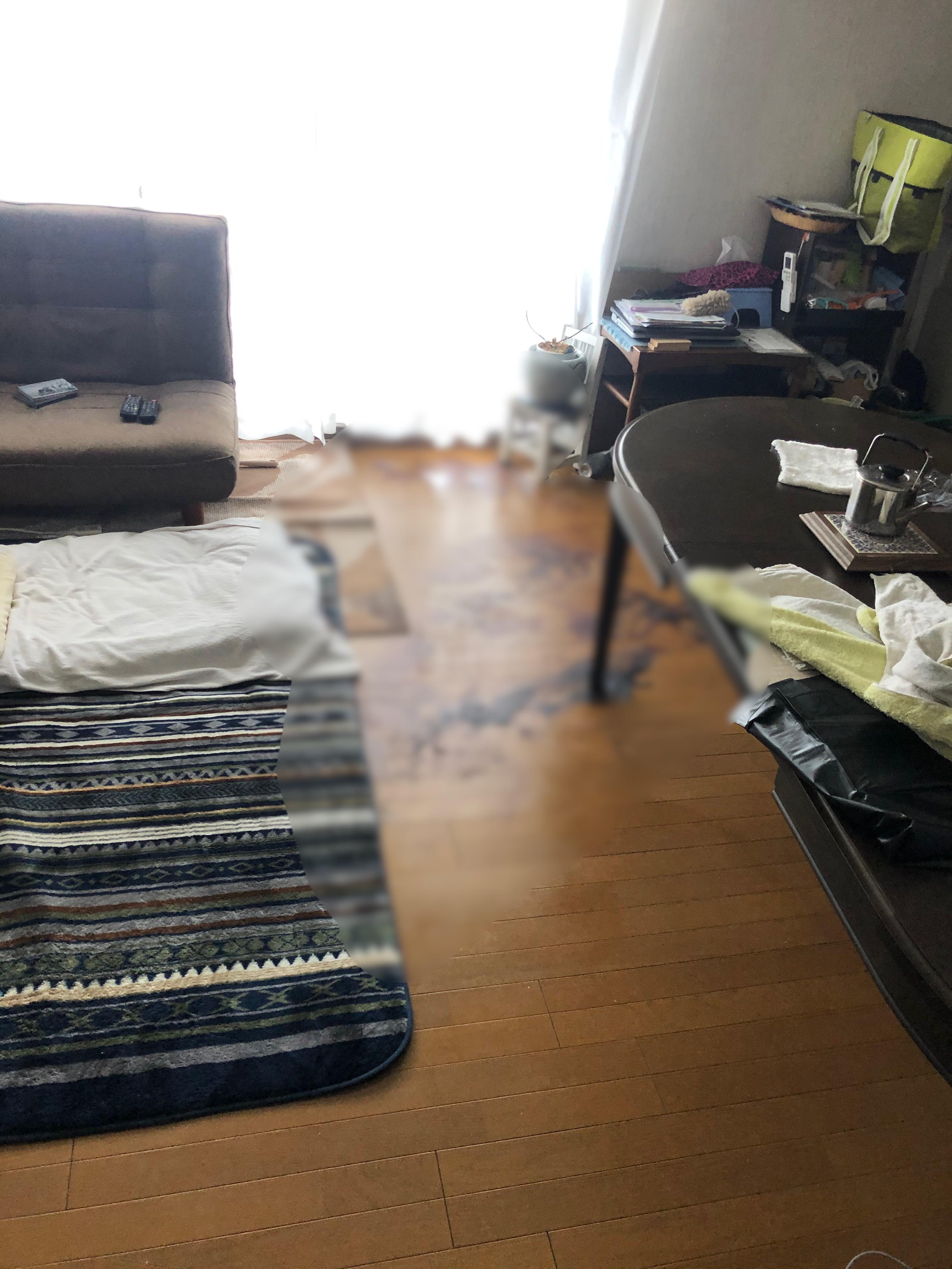 大きなマンションで孤独死が起きました
