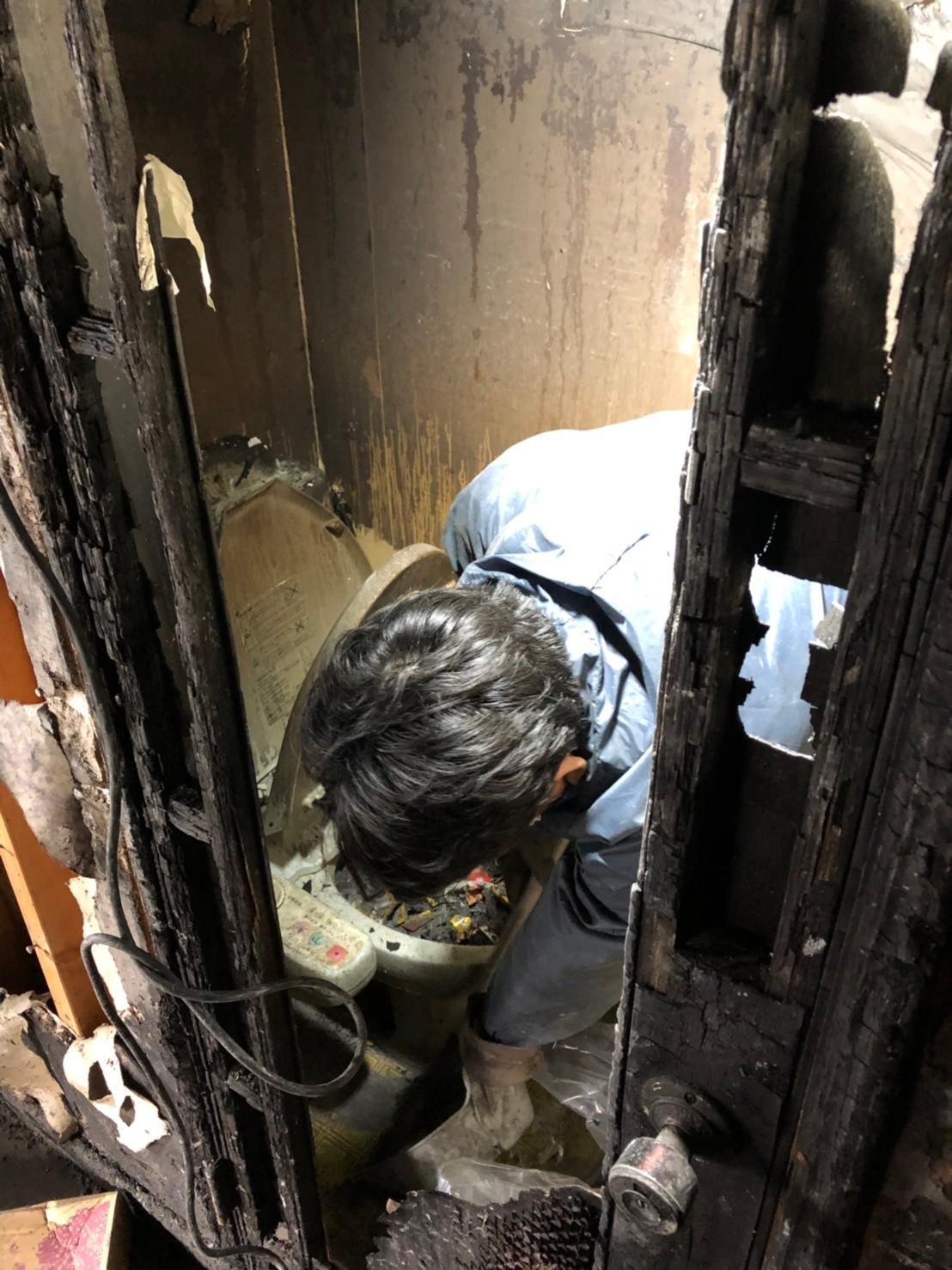 東京都 【火災現場復旧】