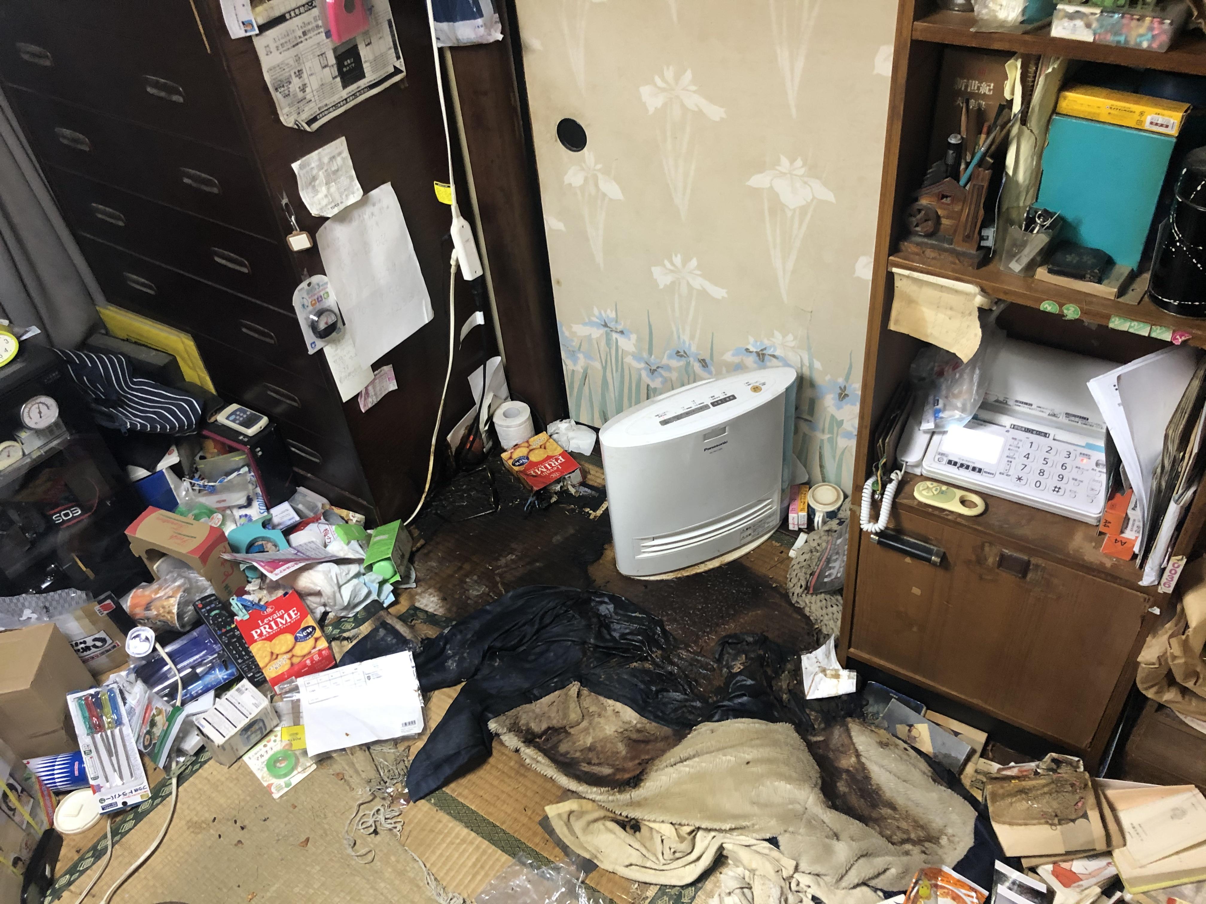 神奈川県【特殊清掃〜遺品整理】